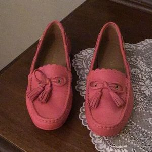 Coach tassel loafers